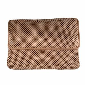Whiting and Davis metal mesh clutch